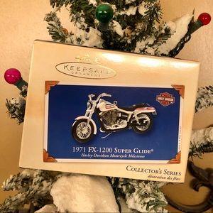 🎄Hallmark 2002 Harley Davidson 1971 FX 1200 🏍